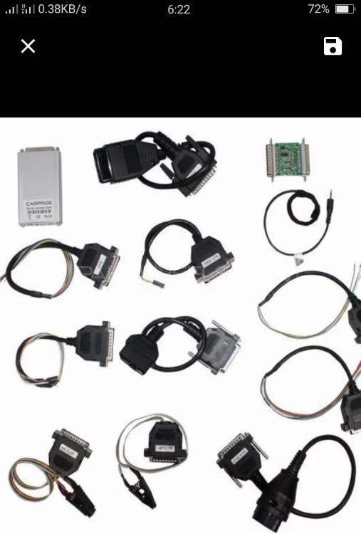 CARPROG Full V4.1 21 adapter ECU programmer  Image-1