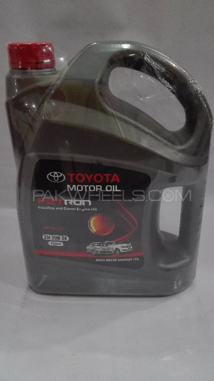 Toyota Motor Oil Petron 4 Liter  in Lahore