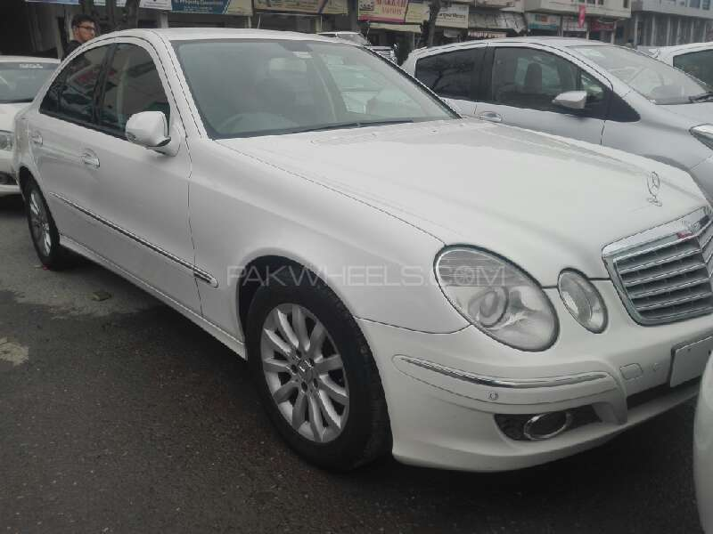 Mercedes benz e class e200 2007 for sale in islamabad for Mercedes benz house of imports service