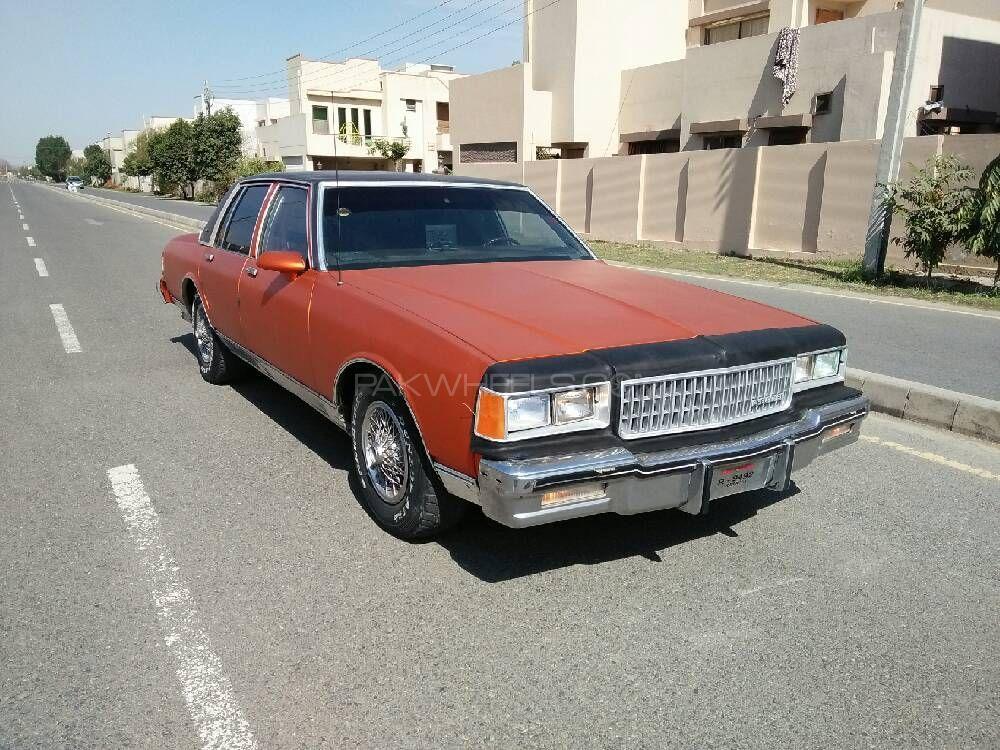 Chevrolet Caprice 1986 Image-1