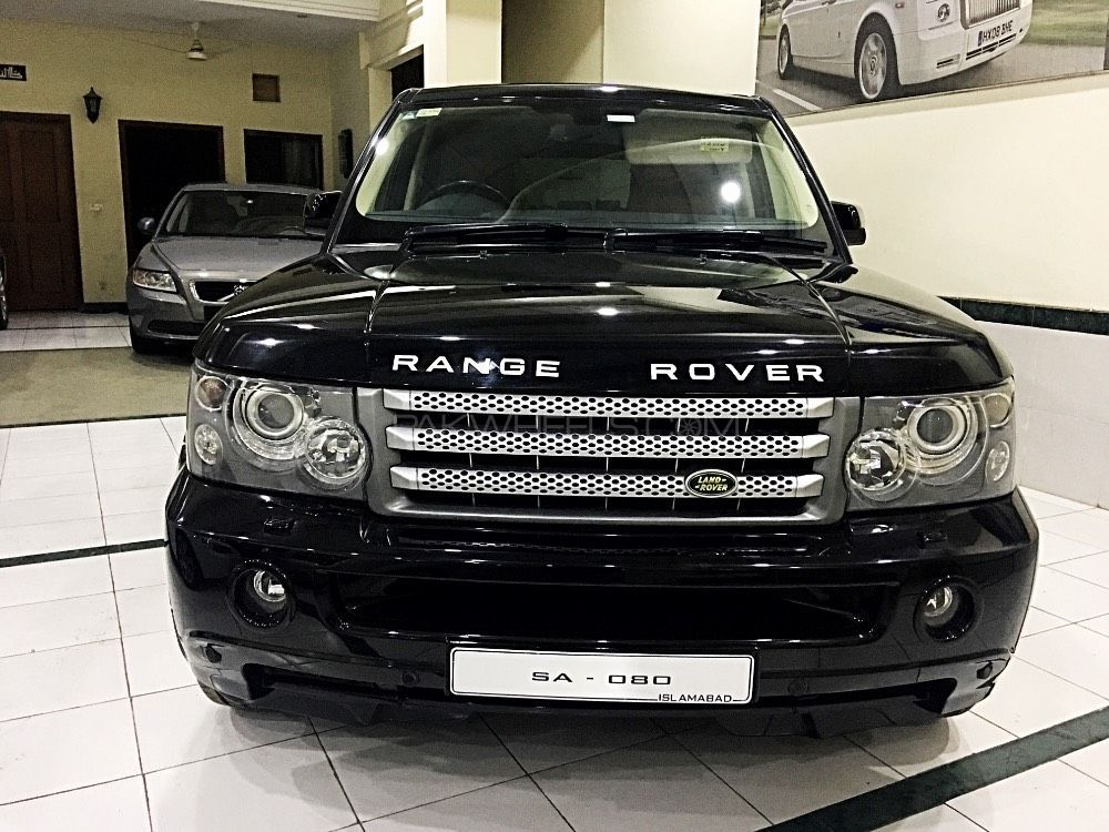 range rover sport 2008 for sale in lahore pakwheels. Black Bedroom Furniture Sets. Home Design Ideas
