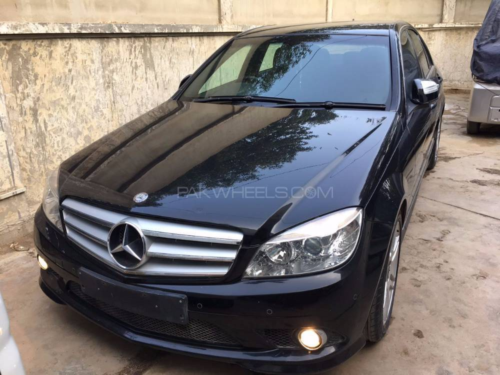 mercedes benz c class 2008 for sale in karachi pakwheels. Black Bedroom Furniture Sets. Home Design Ideas