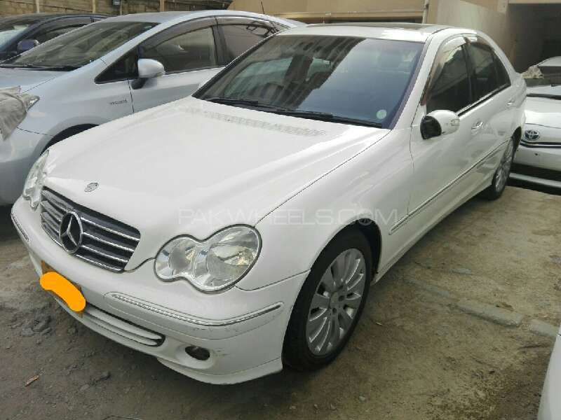 mercedes benz c class c200 cdi 2005 for sale in karachi pakwheels. Black Bedroom Furniture Sets. Home Design Ideas