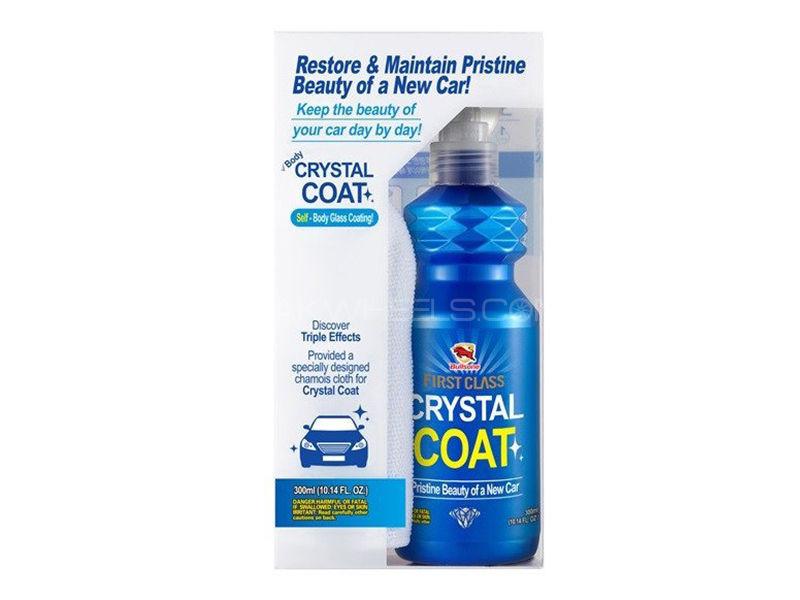 Bullsone First Class Body Crystal Coat + Microfiber Towel in Lahore