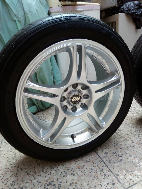 Original Japanese Rays 16 Inch Multi PCD Rims For Sell Image-1