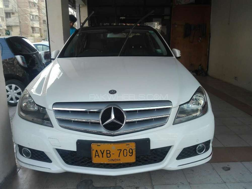 Mercedes benz c class c200 2012 for sale in karachi for Mercedes benz inspection cost