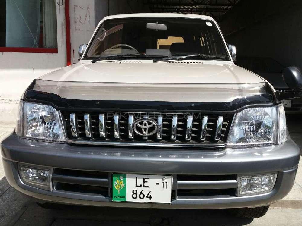 Toyota Prado Tz 3 4 1998 For Sale In Lahore Pakwheels