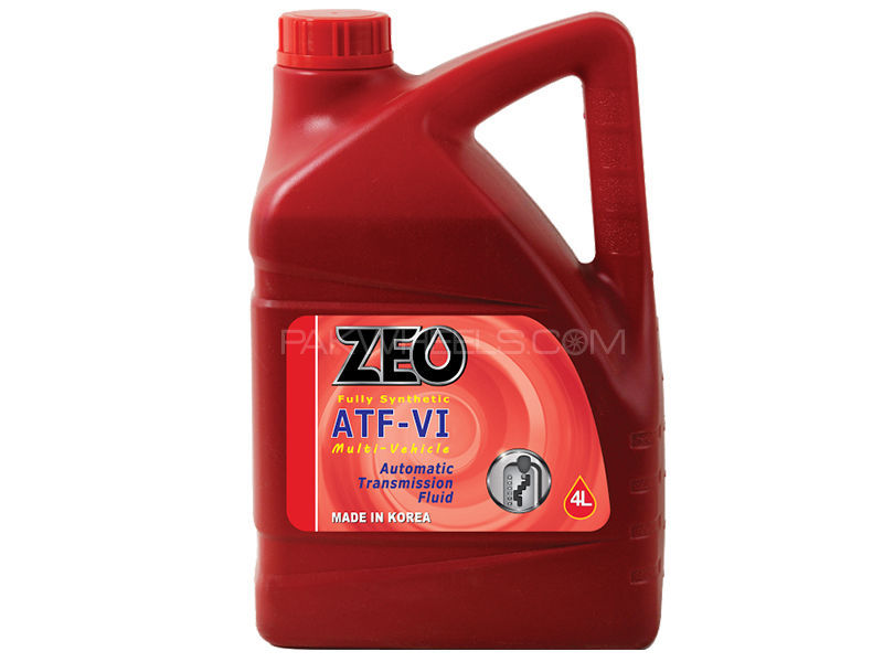 ZEO 4Ltr Fully Synthetic ATF VI Gear Oil - AFW+ Image-1