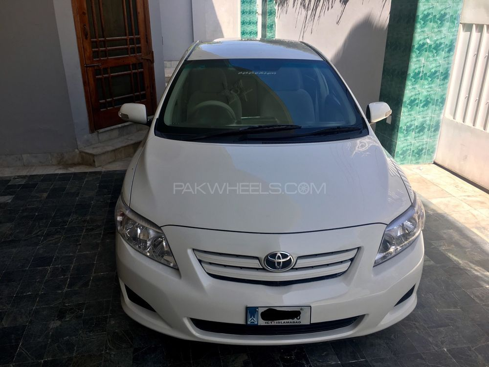 toyota corolla altis 1 8 2009 for sale in mardan pakwheels. Black Bedroom Furniture Sets. Home Design Ideas
