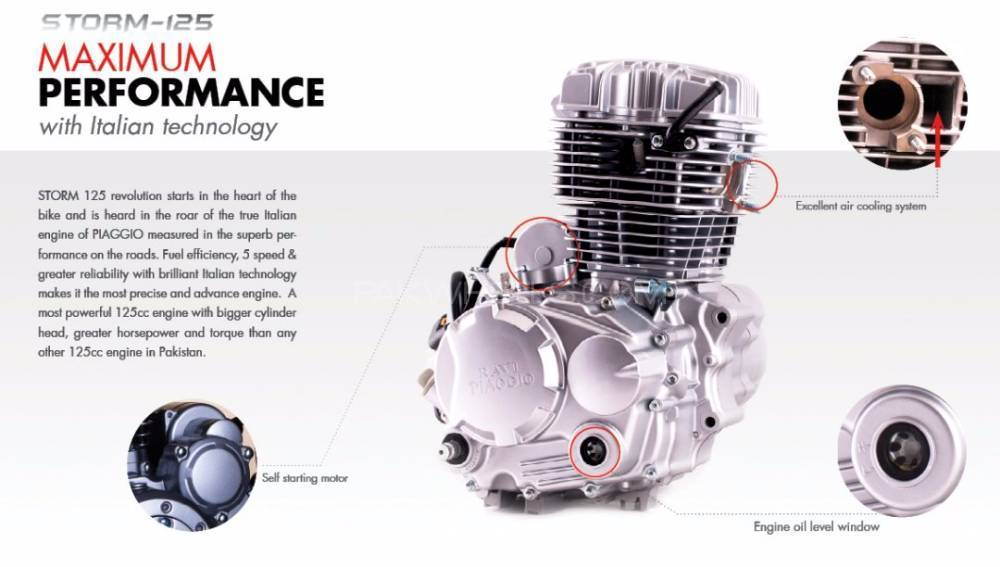 sealed 125cc engine for sale for sale in karachi - parts