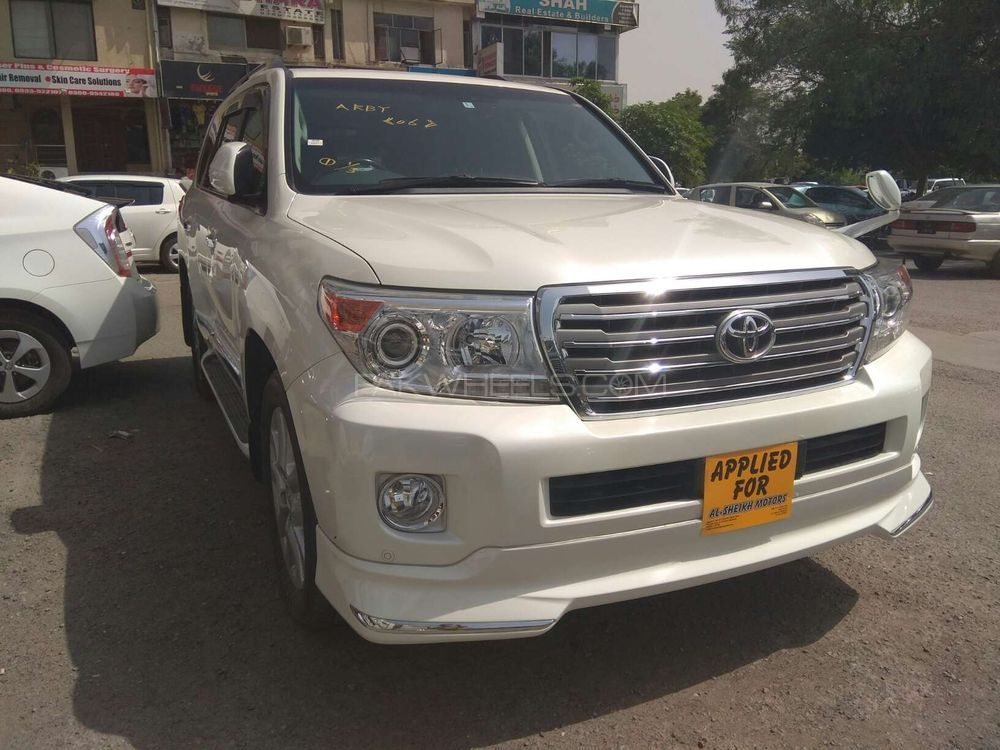 toyota land cruiser zx 2012 for sale in islamabad pakwheels. Black Bedroom Furniture Sets. Home Design Ideas