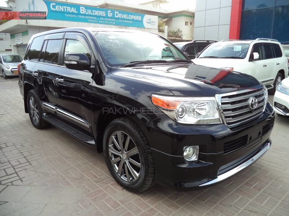 Toyota Land Cruiser Zx 60th Black Leather Selection 2012