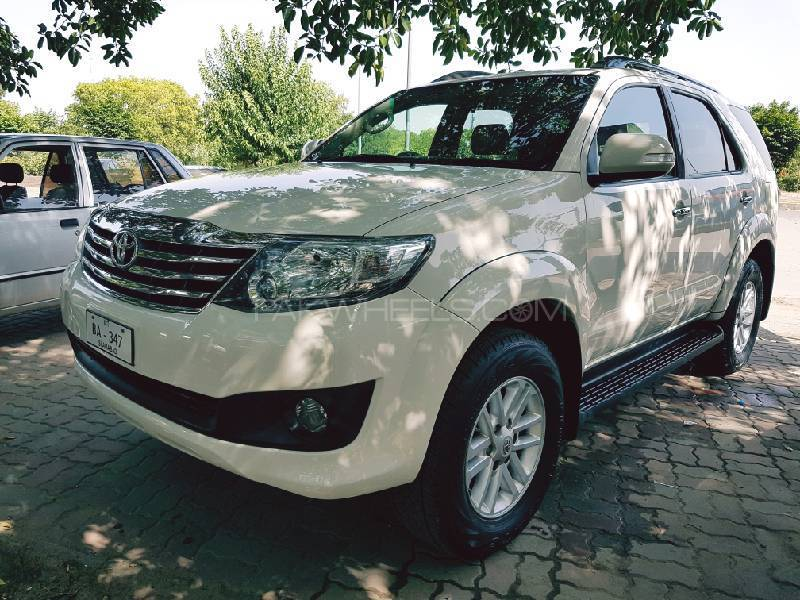 Toyota Fortuner VVTi For Sale In Islamabad PakWheels - Sports cars for sale in islamabad