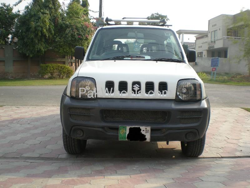 Suzuki Jimny JLDX 2008 Image-2