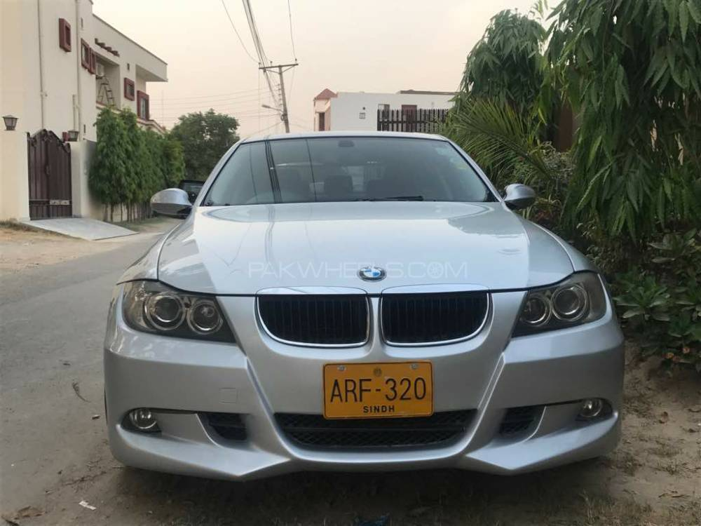 bmw 3 series 320i 2007 for sale in lahore pakwheels. Black Bedroom Furniture Sets. Home Design Ideas