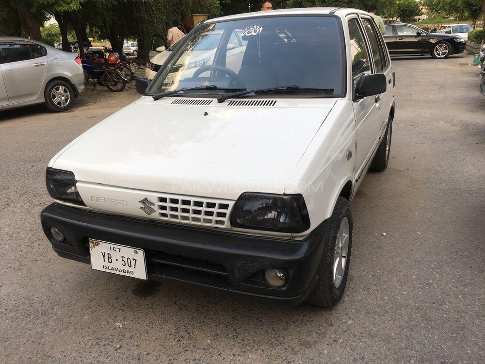 Suzuki Mehran VX Euro II (CNG) 2013 Image-1