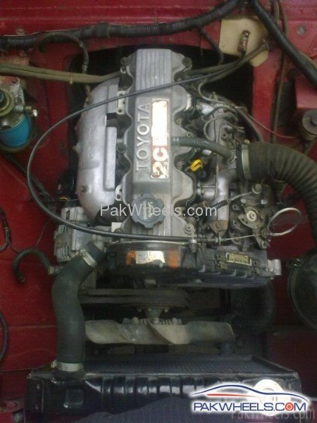 Fs  Toyota 2c Diesel Engine In Good Condition For Sale In Rawalpindi
