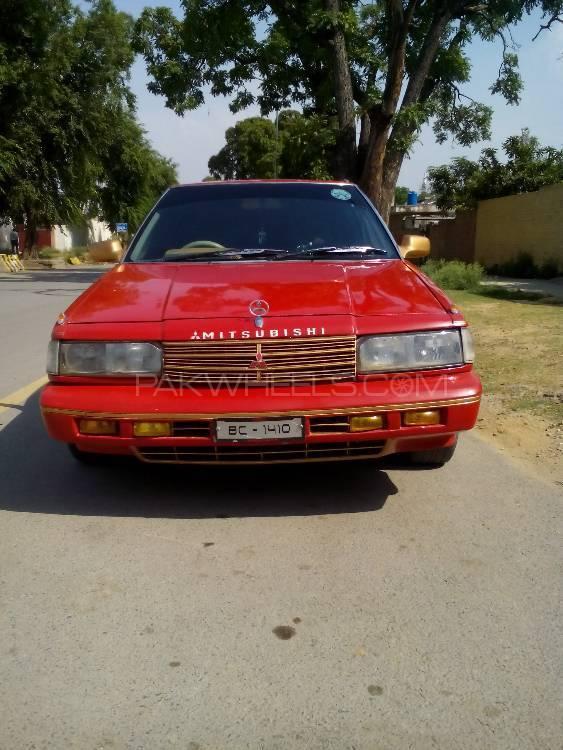 Mitsubishi Galant 1986 Image-1