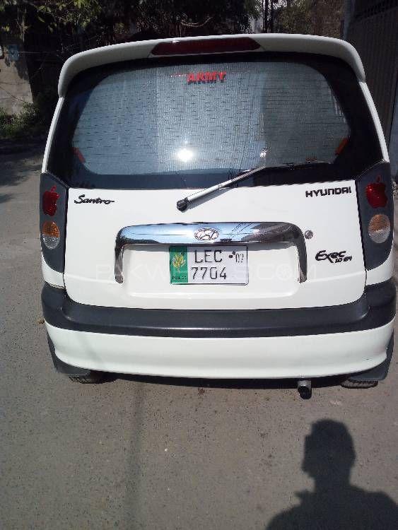 Hyundai Santro Exec GV 2007 Image-1