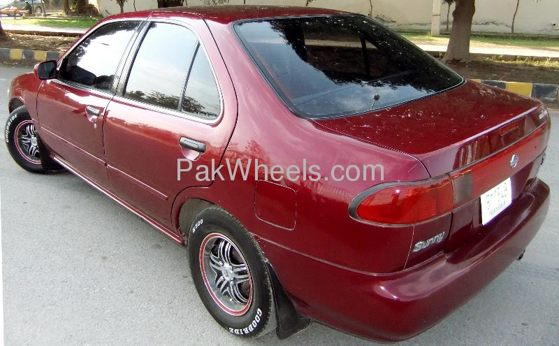 Nissan Sunny EX Saloon 1.3 (CNG) 1998 Image-2