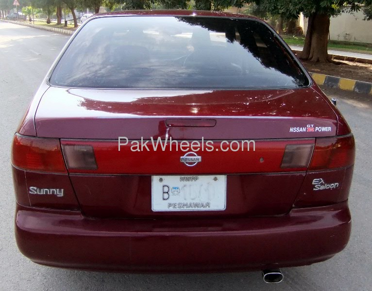 Nissan Sunny EX Saloon 1.3 (CNG) 1998 Image-4