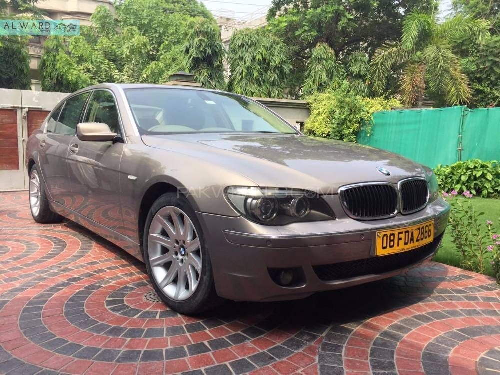 bmw 7 series 2007 for sale in lahore pakwheels. Black Bedroom Furniture Sets. Home Design Ideas