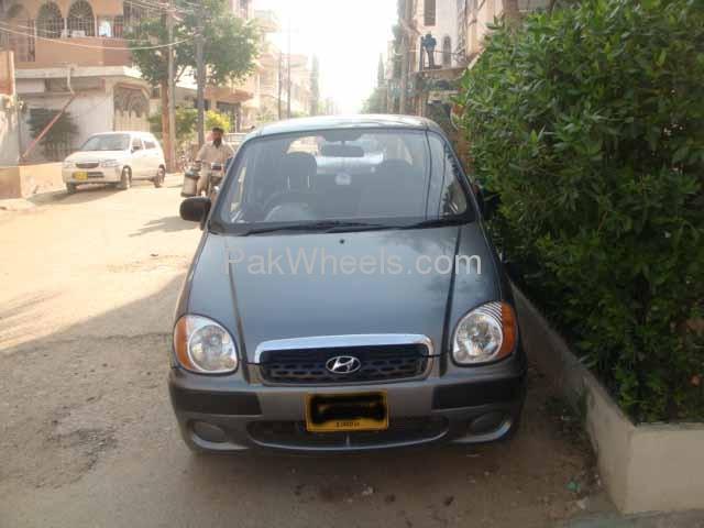 Hyundai Santro Club GV 2005 Image-3