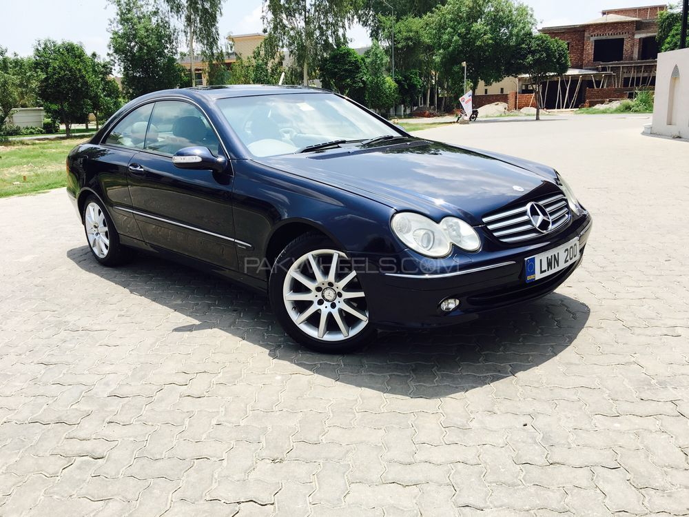 mercedes benz clk class clk200 kompressor 2005 for sale in lahore pakwheels. Black Bedroom Furniture Sets. Home Design Ideas