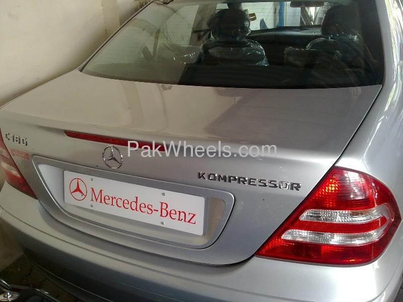 Mercedes Benz C Class C180 Kompressor 2007 Image-5
