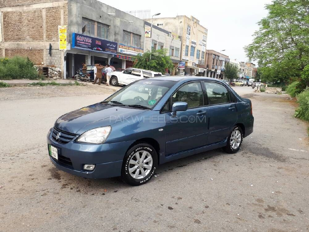 suzuki liana lxi cng 2008 for sale in islamabad pakwheels. Black Bedroom Furniture Sets. Home Design Ideas
