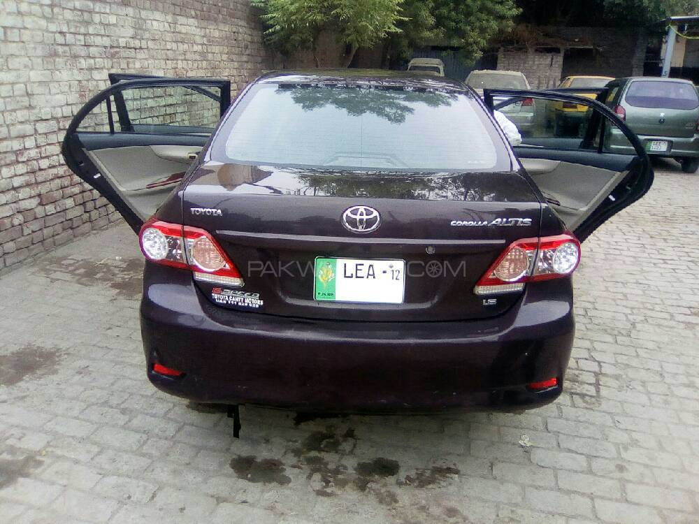 toyota corolla altis 1 6 2012 for sale in lahore pakwheels. Black Bedroom Furniture Sets. Home Design Ideas