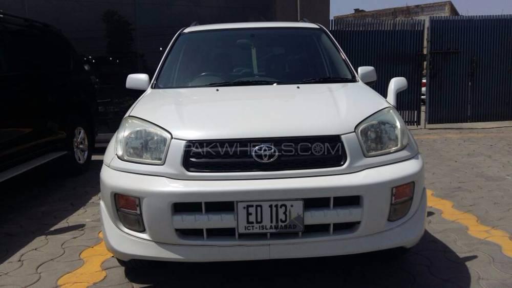Toyota Rav4 G 2002 Image-1