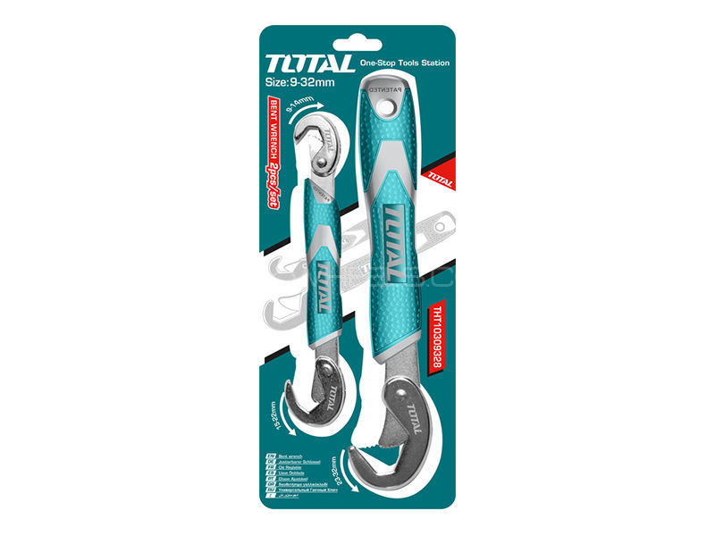 TOTAL Bent Wrench  Image-1