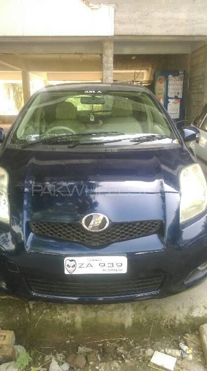 Toyota Vitz F 1.3 2007 Image-1