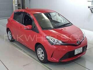 Toyota Vitz Jewela Smart Stop Package 1.0 2015 Image-1