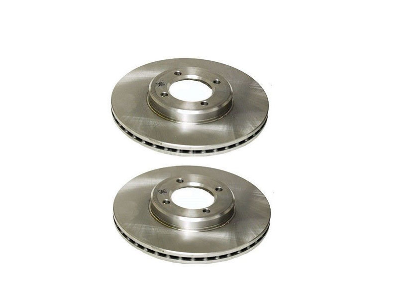 Rear Rotors Set Toyota Corolla 2009-2014 Taiwan Image-1