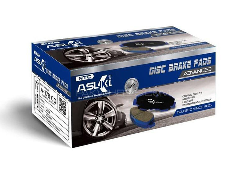 Toyota Aqua 2011-2014 Asuki Advanced Brake Pads Front Ceramic Technology a-75b ad in Karachi