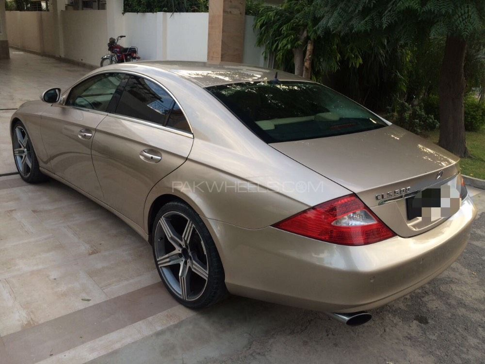Mercedes benz cls class cls500 2006 for sale in lahore for Mercedes benz cls 2006