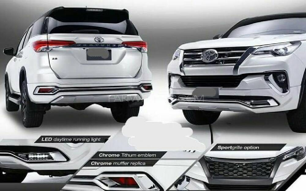 toyota fortuner 2017 exclusive accessories for sale in karachi parts accessories pakwheels. Black Bedroom Furniture Sets. Home Design Ideas