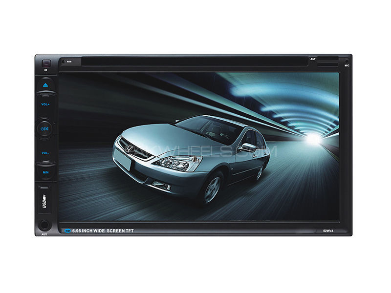 Universal HD Dvd Headunit - 6063A in Lahore
