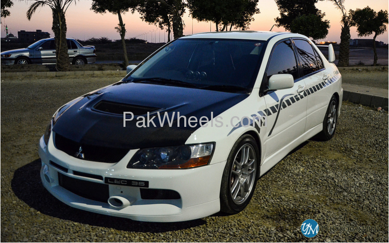 mitsubishi lancer evolution 2005 for sale in karachi pakwheels. Black Bedroom Furniture Sets. Home Design Ideas