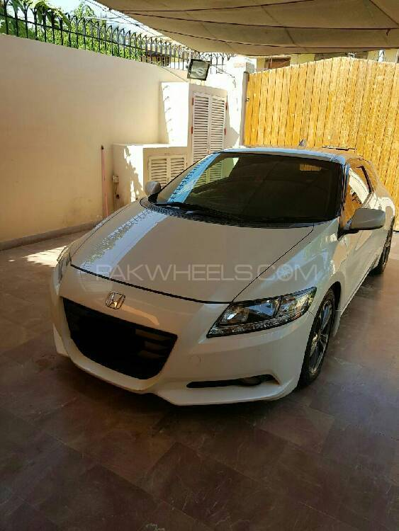 Honda CR-Z Sports Hybrid Alpha Black Label 2011 Image-1