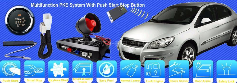 "Buy ""Passive Keyless Entry + Remote START CAR + Push START ..."