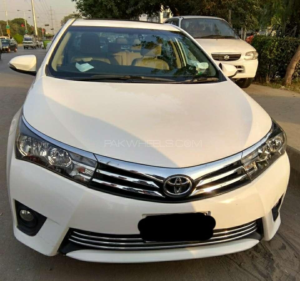 Toyota corolla altis grande cvt i 1 8 2016