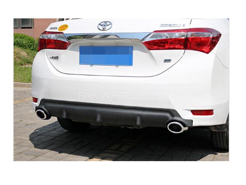 Toyota Corolla 2014-2017 Rear Bumper Diffuser in Lahore
