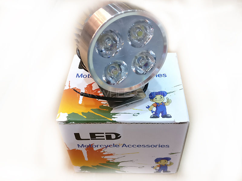 4x Led Round Shape For Bikes 1pc in Lahore
