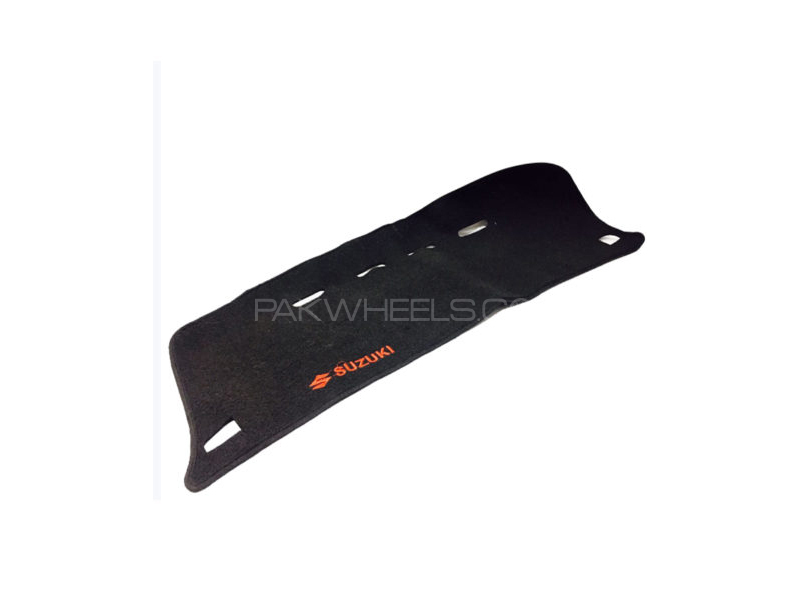 Suzuki Wagon R Dashboard Mat Black and Red in Lahore