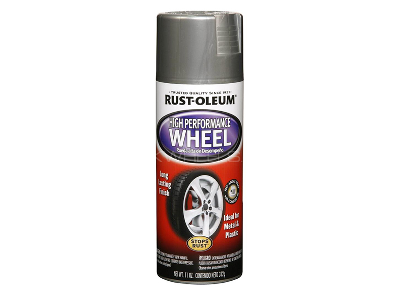 Rust-Oleum Performance Wheels Silver in Lahore