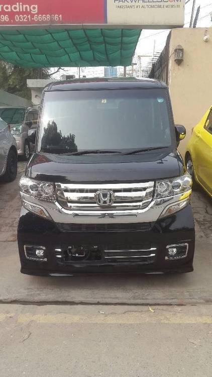 Honda N Box Plus Custom G-TURBO PACKAGE 2015 Image-1