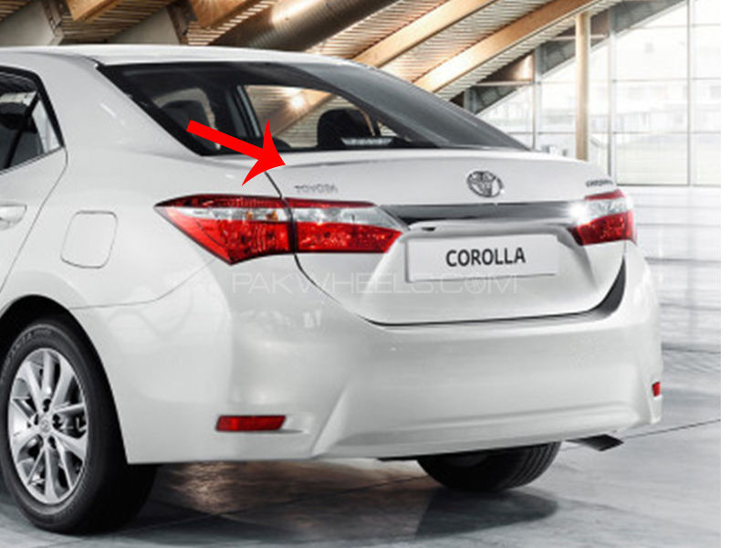 Toyota Corolla Genuine Trunk Xli, Gli, Altis 2014-2017 in Lahore